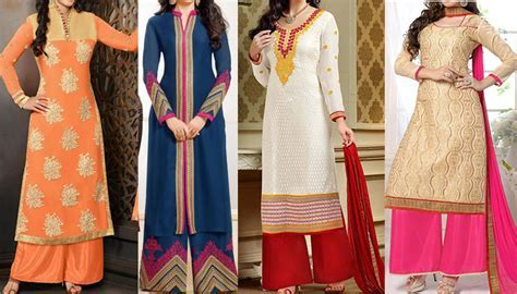 Hurry ! Latest Stylish Long Kurtis With Palazzo Online