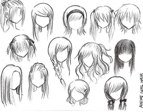 anime girls hairstyles hairstyle  women man