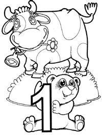 Number 4 coloring pages for preschoolers, counting numbers