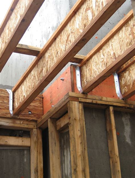 tji floor joist hangers structure wood beam connection 171 home building in vancouver