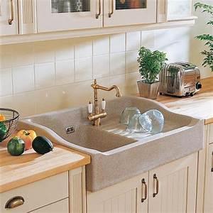 Evier Cuisine Ceramique : evier de cuisine 3 types de pose d 39 evier cuisine ~ Premium-room.com Idées de Décoration