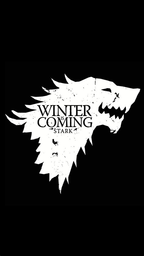 game thrones winter  coming  htc  wallpapers