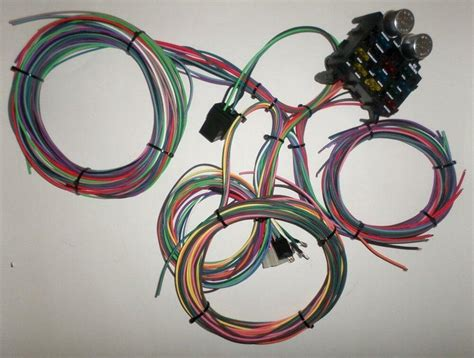L Wiring Harness by 12 Circuit Ez Wiring Harness Chevy Mopar Ford Hotrods