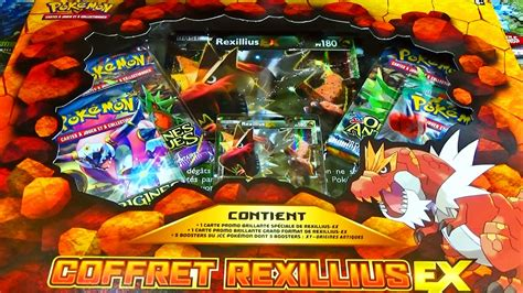 ouverture dun coffret pokemon rexillius  fr carte