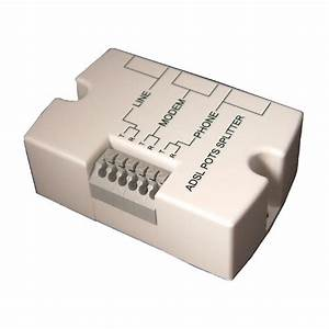 Adsl Splitters  U0026 Microfilters