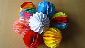 Deko Aus Papier : diy deko kugel aus papier decoration ball paper youtube ~ Eleganceandgraceweddings.com Haus und Dekorationen