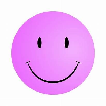 Smiley Face Faces Printable Clip Pink Clipart