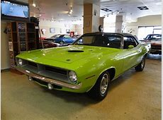 New 1970 Plymouth Cuda Numbers Matching 340 Convertible