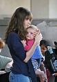 Amanda Peet and Daughter Frances Land at LAX 1 of 16 - Zimbio