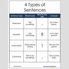 Sentences  Tj Homeschooling