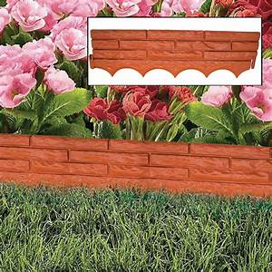 Kct, Red, Brick, Wall, Garden, Border, Edging