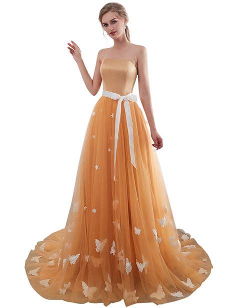 foto de YIRENWANSHA Long Prom Dresses 2019 Yarn Satin Elegant