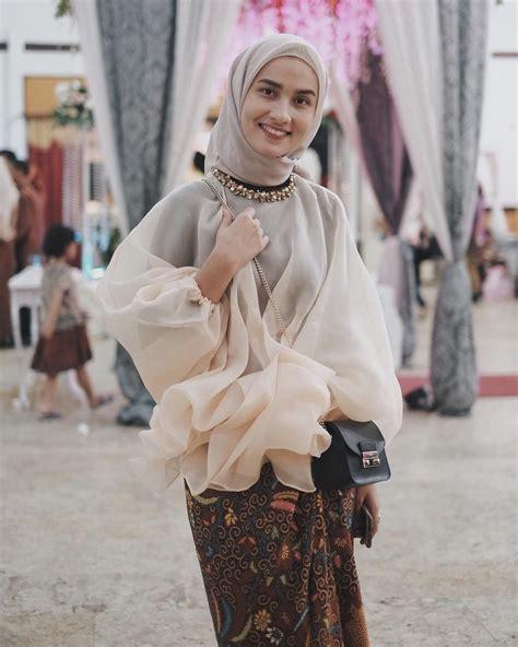 pin  terosha reynanda  hijabiformal kebaya modern