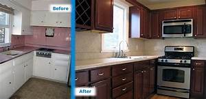 Before and After Kitchen Remodels Photos All Home