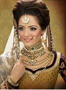 Indian bridal hairstyl...