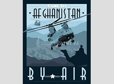 Come See Afghanistan CH47 Chinook – Squadron Posters