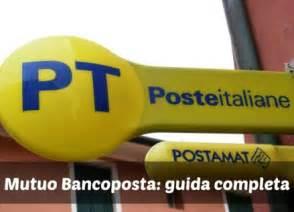Mutuo Prima Casa Poste Italiane by Mutuo Bancoposta Simulazione Mutuo Conviene