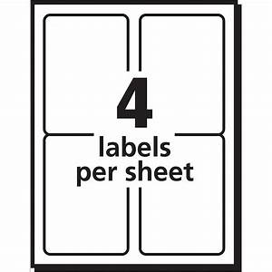 label template 4 per page templates ideas With label template 65 per sheet