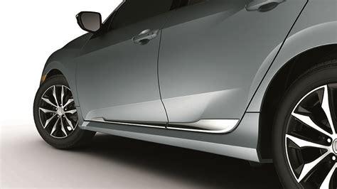 honda civic hatchback chrome  door garnish