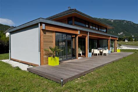 les maison en bois vision bois r 233 alisations maison ossature bois poteau poutre st jeoire savoie