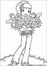 Holly Hobbie Disegni Hobby Coloring Colorare Adults sketch template