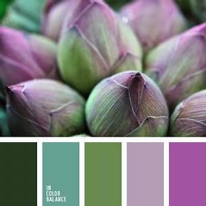 Farbpalette Wandfarbe Grün : violett und gr nt ne tag farbe ideenfarbe ideen ~ Indierocktalk.com Haus und Dekorationen