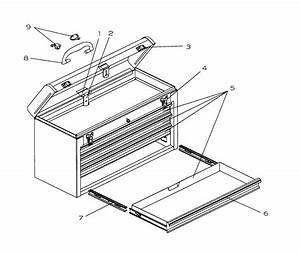 Craftsman 706654272 Tool Chest Parts