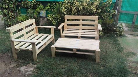 diy pallet outdoor seating ideas  pallets