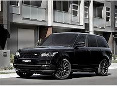 Picture Range Rover Vogue Black automobile
