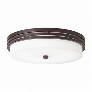Kichler lighting in w olde bronze led ceiling