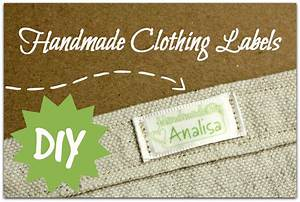 handmade clothing labels parental perspective With custom made fabric labels