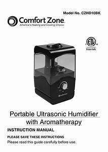 Portable Ultrasonic Humidifier With Aromatherapy