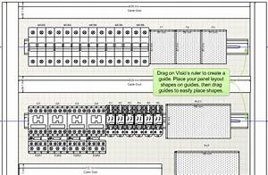 Electrical Switchboard Panel Symbols Layout Drawings