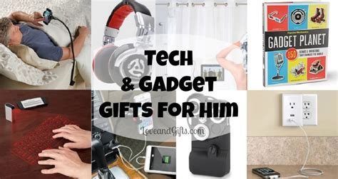 Tech and Gadget Gift Ideas for Him