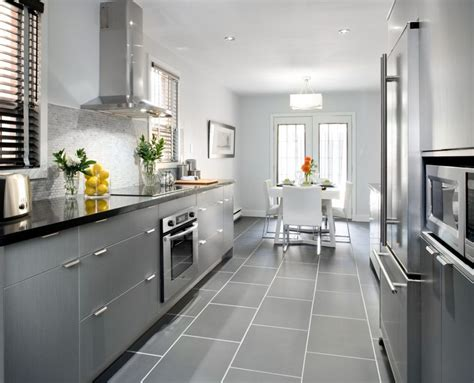 grey contemporary kitchen 40 and welcoming grey kitchens for your home 1486