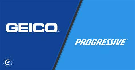 geico  progressive consumer ratings  rates