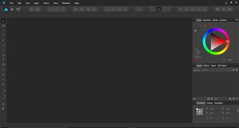 how to use the colour picker tool in affinity designer