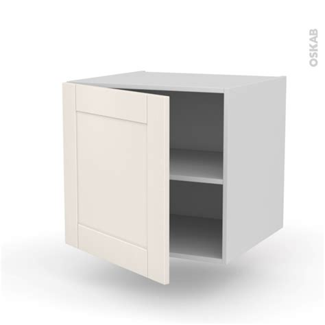 meuble de cuisine suspendu meuble de cuisine bas suspendu filipen ivoire 1 porte l60