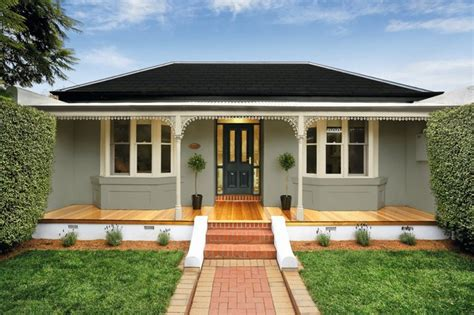 Federation House Colour Schemes & How To Choose  Houzz