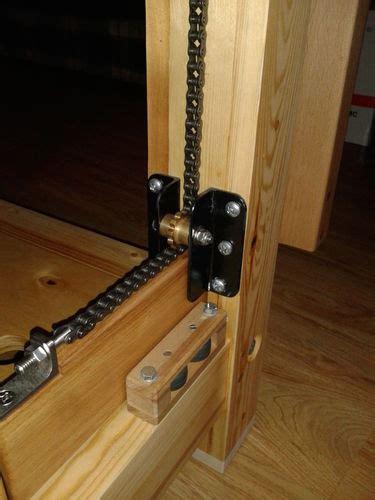 workbench    leg vise parallel chain guide