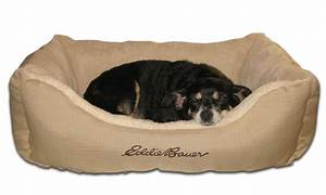 eddie bauer pet bolster bed groupon goods With ripstop dog bed