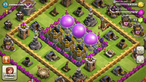 clash of clans for nokia lumia and windows phone