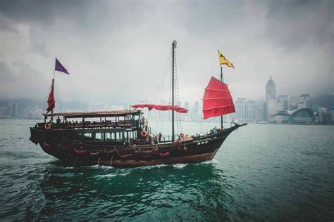 Race Junk Boats by Journey Through Hong Kong In Photos Part 1 The