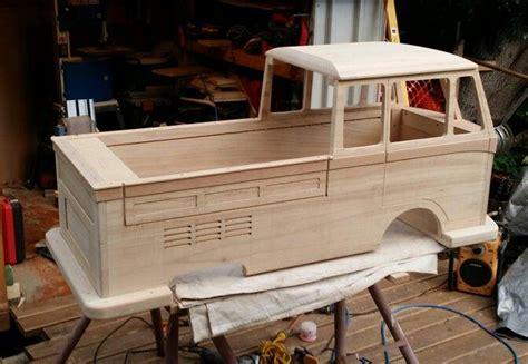 kombi pedal car    autos de madera muebles de