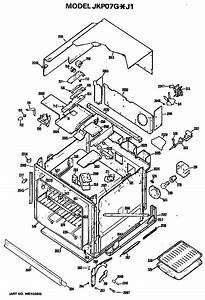 Ge Jkp07g J1 Electric Range Parts