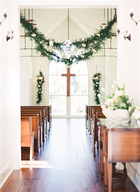 coastal chic palmetto bluff wedding ceremony church