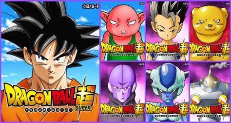 anime movil dragon ball s per dragon ball super nuevos personajes revelados