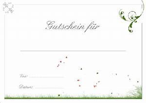 Gutschein Selber Ausdrucken : gutschein vorlage kostenlos erstellen und runterladen ~ Eleganceandgraceweddings.com Haus und Dekorationen