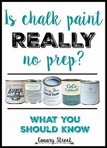 when to prep before chalk paint canary street crafts With what kind of paint to use on kitchen cabinets for street stickers