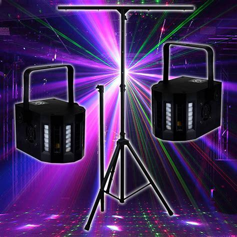 pack sono dj light jeux de lumiere  effets derby noir